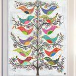 banyan birds -largeframed print