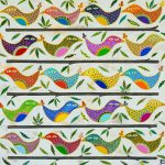 busy banyan birds - card