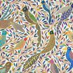 chirping  birds - small print