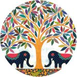 elephant banyan swing tag