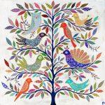 exotic birds - large print
