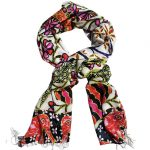 Exotic Journey Silk Scarf - Winter