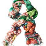 Frutti Tutti 100% silk scarf