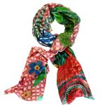 Frutti Tutti 100% cashmere scarf