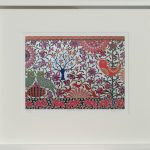 indian journey - small framed print
