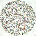 love birds - large print