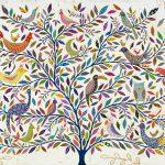 menagerie tree - large print
