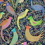 midnight gathering - large print