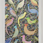 midnight gathering  -largeframed print
