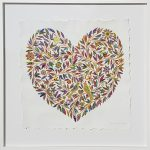 "Original - Framed Heart ""so much love"""
