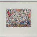summer holiday - small framed print