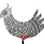 Monochrome Bird Ceramic