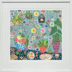 Bird House - large framed print