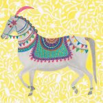 Carnival Horse - small print