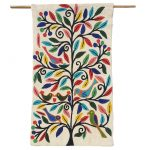 Busy Birds Dark Tree - Mini wall hanging