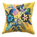 Sunshine Flowers Cushion