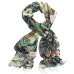 After the Rain Silk Scarf - Winter
