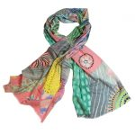 Spring Delight 100% Wool Scarf