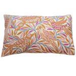 Pink Birdies Rectangle Cushion